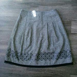 Ann Taylor LOFT tweed skirt, size 14, NWT